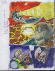 Original X-Men vs Dracula Marvel color guide comic art:Mutant X Annual 3 page 39