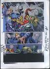 2001 X-Men/Dracula Marvel Comics production proof art:Mutant X Annual 3 page 11