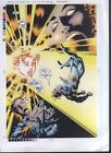2001 Mutant X Annual 3 page 33 Marvel Comics production proof art: X-Men Havok