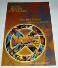 1998 X-Men 75 Marvel Comics 18 by 12 comic book promo poster: Wolverine/1990's