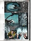 1 of a kind original 1993 Moon Knight 52 page 25 Marvel Comics color guide art