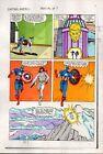 1983 Captain America Annual 7 page 25 Marvel Comics original color guide artwork