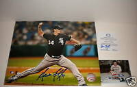 Gavin Floyd Chicago White Sox Signed 8x10 w/picture