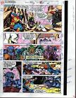 1991 Avengers 330 page 14 Marvel Comics color guide art: She-Hulk/Black Widow
