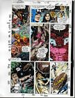 1991 Avengers 328 Marvel color guide art page 11: Iron Man/Thor/Captain America