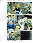 1992 Fantastic Four 362 page 2 original Marvel Comics color guide art: 1990's