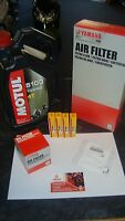 New Yamaha YZF R1 Genuine Service Kit Oil Air Filter Motul Oil NGK YZFR1 YZF-R1