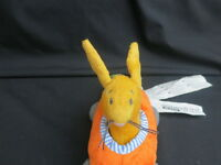 IKEA PLUSH FABLER BABY RATTLE BUNNY RABBIT CARROT CAR PLUSH SOFT TOY TAGS
