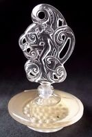 "LALIQUE Miniature Perfume Bottle (full) 2005 Limited Edition ""Songe"" Mini"