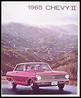 1965 Chevy II Nova Super Sport Dlx Brochure