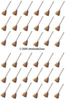 36 Brass Gold Wire Brushes Gunsmith for Dremel - Cup