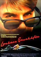 RISKY BUSINESS / LOCKERE GESCHÄFTE Presseheft TOM CRUISE / REBECCA DE MORNAY