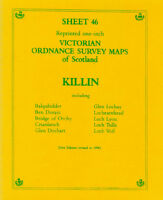 MAP OF KILLIN VICTORIAN ORDNANCE SURVEY