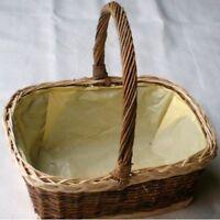Wicker Display Basket/Gift Hamper-PlasticLined.XX Large