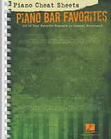 PIANO CHEAT SHEETS PIANO BAR FAVORITES - C EDITION FAKE BOOK