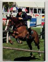 #91 Michael Whitaker GBR Jump equestrian collector card
