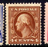 Scott #334 Washington Perf 12 Mint Stamp NH (Stock #334-12)