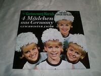 """GESCHWISTER JACOB (LP)  """"4 MÄDCHEN AUS GERMANY"""" [GARTENZWWERG-MARSCH]"""