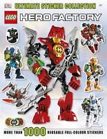 LEGO® Hero Factory Ultimate Sticker Collection, DK, Excellent
