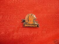 Cincinnati Bengals Helmet Ribbon Pin NFL