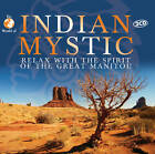 CD Indian (d'Inde) Mystic Indiens Relax with the Spirit Of great Manitou 2CDs
