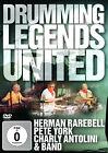 DVD Drumming Legends Uniti d'america con Herman Rarebell,Pete York,Charly