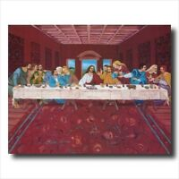 Jesus Christ Last Supper Wall Picture Art Print