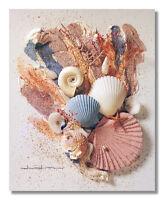 Ocean Starfish Sea Shell Beach Bathroom # 6 Wall Picture 8x10 Art Print