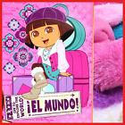 "Dora The Explorer Dora Raschel Mink Plush Throw Tiwn Blanket 60"" x 80"" Winter"