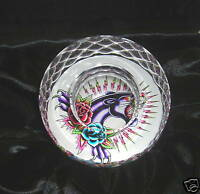 ED HARDY PANTHER TEA LIGHT CANDLE HOLDER PAPERWEIGHT