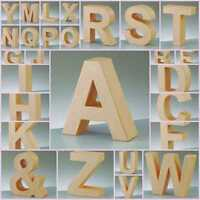 5cm Paper Mache Large Cardboard Letters Shapes & Signs 3D Craft Choose Letter