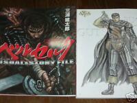 "Berserk Art Book ""Visual&Story File"" Japanese Manga"