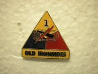 ARMY  PIN - 1st ARMORED DIVISION