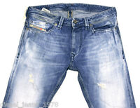 DIESEL THANAZ 8MY JEANS 31X34 008MY 100% AUTHENTIC SKINNY FIT TAPERED LEG