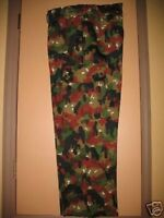 """SWISS ARMY ALPENFLAGE CAMO COMBAT PANTS 32-34"""" W - NEVER USED- NEVER WORN"""
