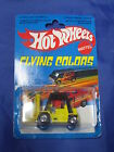 DV3832 HOT WHEELS FLYING COLORS 1979 CAT FORKLIFT MATTEL MALAYSIA RARE NEUF