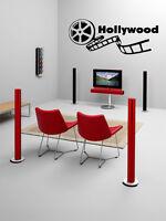 Hollywood cinema cute wall vinyl sticker decals art mural - Stickers cinema mural ...