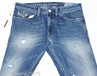 BNWT DIESEL SHIONER 74Z JEANS 29X30 100% AUTHENTIC SKINNY FIT TAPERED 0074Z