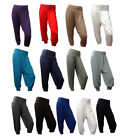 NEW STRETCHY CROPPED HAREM TROUSERS SIZE 6 8 10 12