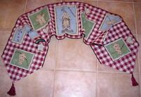 Gingerbread Kitchen II Christmas Tapestry Table Runner