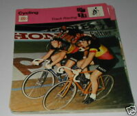 Cycling - Track Racing SC Collector card