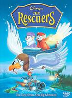 The Rescuers, Acceptable DVD, Bernard Fox, Michelle Stacy, John McIntire, Jim Jo