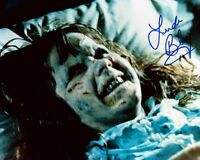 Linda Blair HAND SIGNED Authentic Autograph - The Exorcist 10x8 Photo AFTAL COA