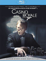 NEW Casino Royale (Blu-ray Disc, 2008, 2-Disc Set, Collector's Edition)