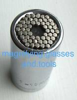 "Universal Multi fit socket 7mm to 19mm damaged nut removal 3/8"" drive"