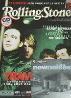 ROLLING STONE + CD 2003 10 Travis Randy Newman Punk - Special