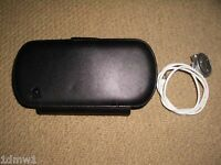 SONY PLAYSTATION PSP Console Flip Case in Black & Official Inline Remote Control