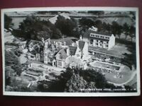 POSTCARD RP ISLE OF WIGHT SANDOWN - BROADWAY PARK HOTEL - 1960'S AERIAL VIEW