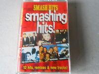 VARIOUS ARTISTS  cassette tape album SMASH HITS 12 tracks read desciption