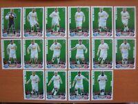 MATCH ATTAX 2012-2013 - MÖNCHENGLADBACH - BASIC CARDS + TEAM SET # 217 - 234